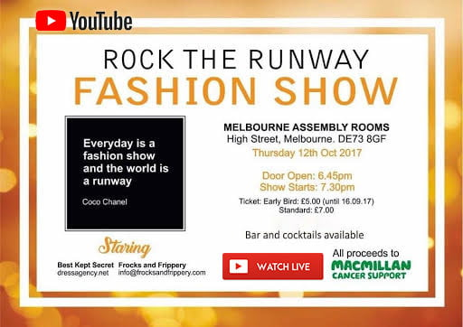 Click Here To View The Fashion Show Live